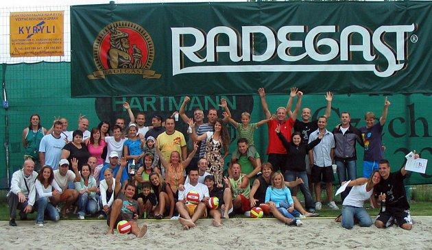 Na závěr se účastníci BéVéKákapu společně vyfotili.