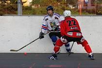 Karvinští hokejbalisté urvali v Dobřanech bod a v tabulce přezimují šestí.