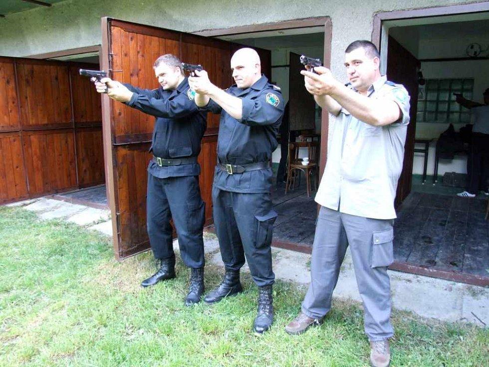 Přesnou mušku v Havířově zkusili také strážníci z Polska a Chorvatska.