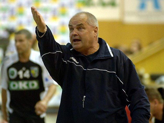 Slovenský trenér Ivan Hargaš.