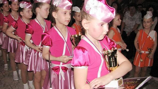 Oceněné mažoretky show 2011