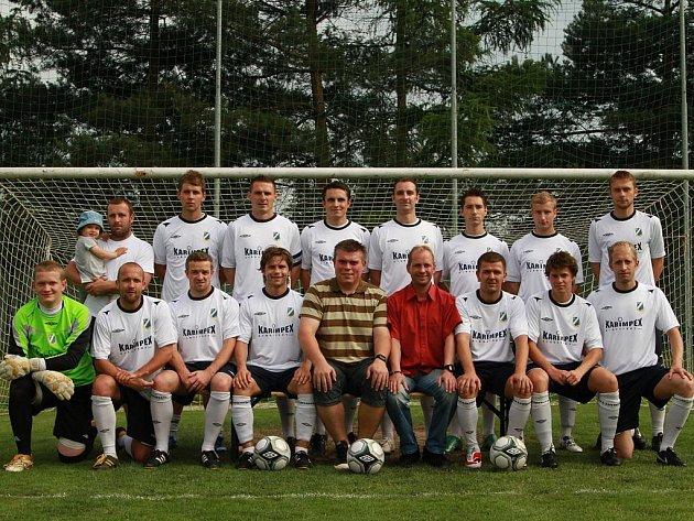 Nejlepší tým Karvinska v krajském přeboru - SK Dětmarovice.