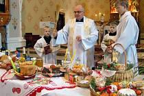 Svěcení svátečního jídla