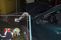 Nehoda na Šumbarské ulici v Havířově.