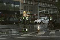 Dopravní nehoda v centru Havířova