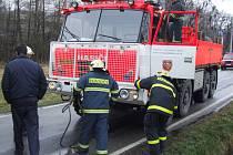 Albrechtičtí hasiči převezmou v červnu vozidlo po profesionálních hasičích.