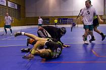Petrovičtí florbalisté vytěžili z domácích zápasů plný počet bodů.