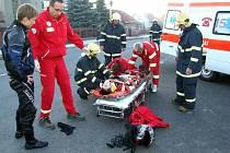 Foto po nehodě.