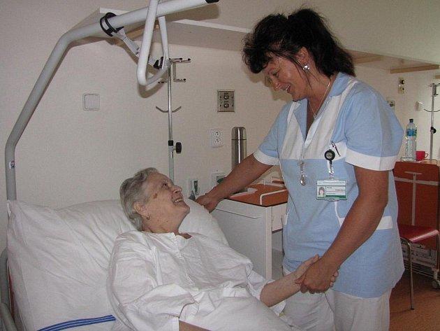 Lůžkové oddělení havířovské nemocnice