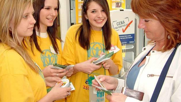 V Havířově pomáhali také žáci a žákyně ze Základní školy Generála Svobody.