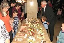 Zahájení výstavy ve vestibulu Základní umělecké školy Leoše Janáčka