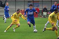Fotbalistům Orlové to doma nejde. Po utkání s Mikulovicemi si však stěžovali na arbitry tohoto duelu.