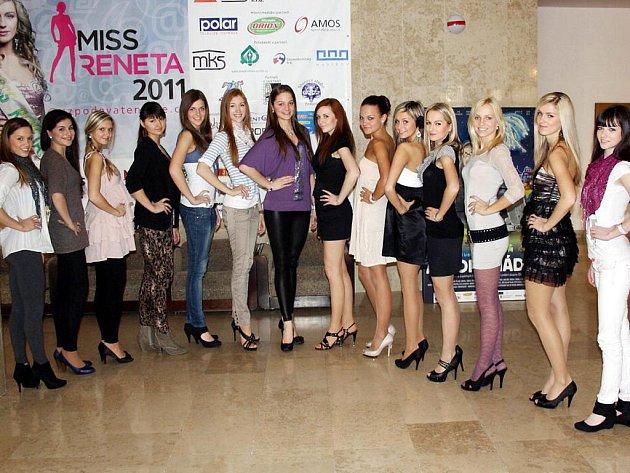 Finalistky soutěže Miss Reneta 2011
