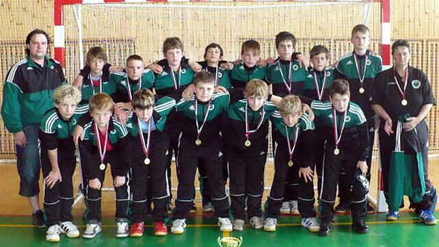 Mladší žáci HCB OKD Karviná, svěřenci trenérky Soni Ortové, jsou nejlepší v republice.