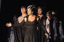 Lenka Jelonková v úloze královny Sáby