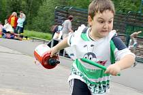 Hasičská soutěž pro nejmenší děti