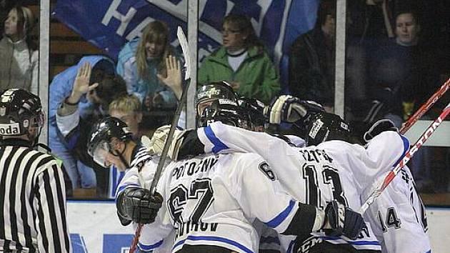 Hokejistům Havířova se daří dobývat ledy nejsilnějších protivníků.