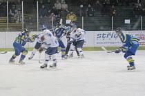 Orlovští hokejisté vezou tři body z Blanska.