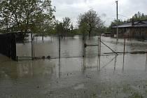 Velká voda zaplavila sklepy a území ve Věřňovicích a Bohumíně