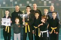 Karvinská výprava bojovníků Survival&Kung fu Clubu Karviná na mezinárodním turnaji v polské Bieruni.