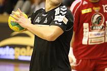 Viktor Hastík zažil vítěznou obnovenou premiéru v karvinském dresu.