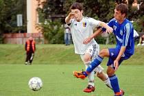 Fotbalisté Petrovic neuspěli v Opavě, i když vedli 1:0.