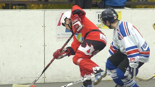 Hokejbalistům Karviné se proti Hradci a Letohradu výsledkově nevedlo.