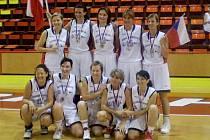 Zástupkyně českého basketu v kategorii nad 31 let - havířovský tým Best Off, celkově stříbrný.