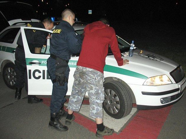 Zadržený pachatel