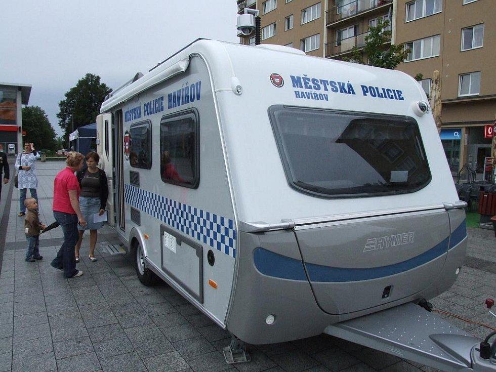 Mobilní služebna Městské policie v Havířově