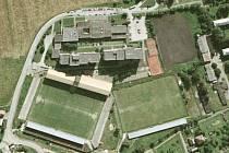 Fotbalový stadion v Prostřední Suché