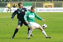 Herní příprava karvinských fotbalistů se dnes rozběhne úvodním přátelským duelem proti Frýdku.