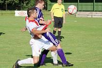 Fotbalisty Orlové stál nedělní duel v Kravařích značné úsilí. Vyhráli, i když se jim nedařilo.