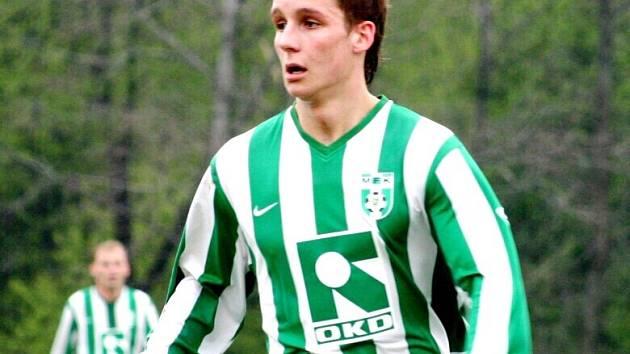 Tomáš Knötig, jedna z nadějí karvinského fotbalu, teď dostane možnost prosadit se ve II. lize.