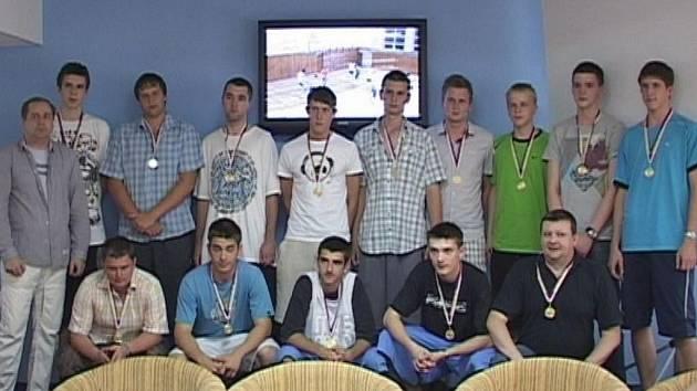 Karvinští basketbalisté - mistři kategorie U20.
