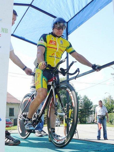 Milan Masný z Frýdku-Místku se stal vítězem nejstarší kategorie mužů.