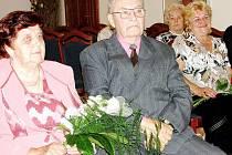 Marie a Miroslav Filipcovi oslavili diamantovou svatbu
