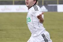Dočká se Vladan Milosavljev podobné vítězné radosti po vstřeleném gólu i na Žižkově?