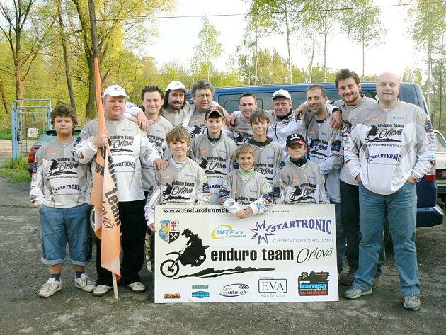 Jezdci Enduro Teamu Orlová už se zapisují do povědomí motoristické veřejnosti.