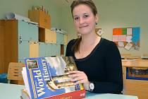 Karolína Lukoszová je studentkou prestižní 1st International School of Ostrava. A ráda by jednou studovala v Oxfordu.