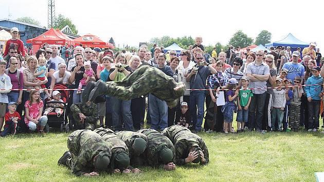 V sobotu od 12 hodin v areálu orlovského letiště probíhal Den bezpečnosti.