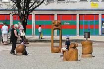 Nově zrekonstruované náměstí u Severky