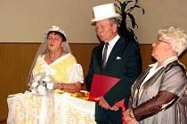 Manželé Anna a Rudolf Šimšovi.