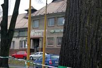Snímek Restaurantu Sokol, v němž se stala tragická událost