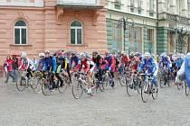 O cenu Krnova, která byla třetím závodem Slezského poháru amatérských cyklistů, bojovalo 113 závodníků.