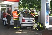 Celodenní návštěva Deníku u karvinských hasičů. Zásah u úniku paliva