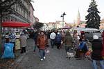 Stovky lidí přilákal v sobotu do Bohumína na náměstí TGM tradiční jarmark.