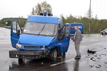 Nehoda v Karviné