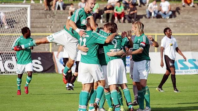 Zažijí fotbalisté Karviné dnes ve Zlíně podobnou radost jako proti Mostu?