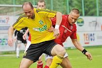 Martin Opic (v popředí) je hráčem, u kterého se ještě neví, zdali zůstane v kádru áčka či béčka pro příští sezonu.